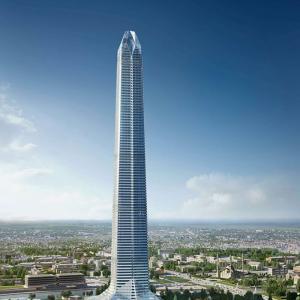 Akhmat Tower Project, Grozni, Çeçenistan